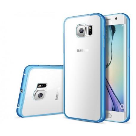 Samsung Galaxy S6 Edge, ekskluzywne etui aluminiowe -NIEBIESKIE