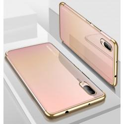 Huawei P20 etui na telefon Silikonowe ELEGANCE Złote