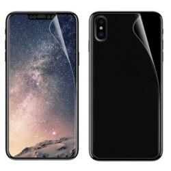 iPhone X  Folia Ochronna na ekran PRZÓD + TYŁ 4szt