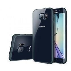 Samsung Galaxy S6 Edge, ekskluzywne etui aluminiowe - GRANATOWE