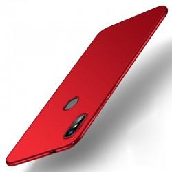 Xiaomi Redmi S2 etui na telefon Silky Touch - Czerwone