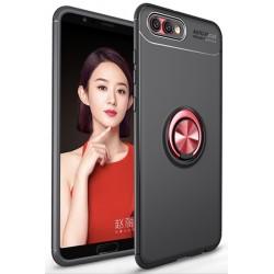 Huawei Honor 10 etui KARBON RING MAGNET Czerwone