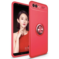 Huawei Honor 10 etui KARBON RING MAGNET Red