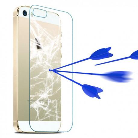 iPhone 5, 5S, SE Szkło Hartowane PRZÓD + TYŁ 9H 2.5D- Kompletny zestaw