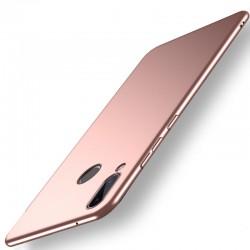 Huawei Honor Play etui na telefon Silky Touch - Różowe