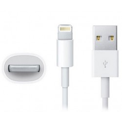 Do iPhone 5 / 5S / 6 / 6S / 6 Plus, kabel 8pin do złącza lighting- BIAŁY