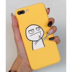 iPhone XS Max etui na telefon FUNNY Case LACK Luzak