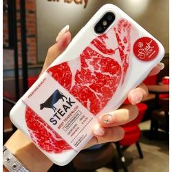 iPhone X / XS etui na telefon FUNNY Case LACK Stek