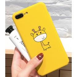 iPhone X / XS etui na telefon FUNNY Case LACK Żyrafa