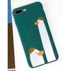 iPhone X / XS etui na telefon FUNNY Case LACK Kaczki