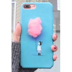 iPhone X / XS etui na telefon FUNNY Case LACK Chmurka