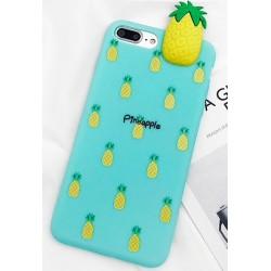 iPhone X / XS etui na telefon 3D FUNNY Case LACK Ananas