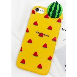 iPhone X / XS etui na telefon 3D FUNNY Case LACK Arbuz