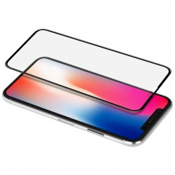 iPhone XR Szkło Hartowane 3D 5D Full Glue na cały ekran
