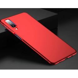 Samsung Galaxy A7 2018 etui na telefon Silky Case - Czarne