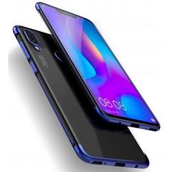 Huawei P Smart Plus etui na telefon Silikonowe ELEGANCE Niebieskie