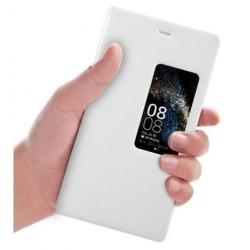 Huawei P8 etui Flip Cover S-View- BIAŁE
