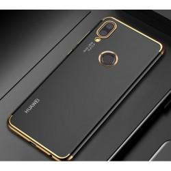 Huawei P Smart Plus etui na telefon Silikonowe ELEGANCE Złote