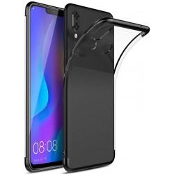 Huawei P Smart Plus etui na telefon Silikonowe ELEGANCE Czarne