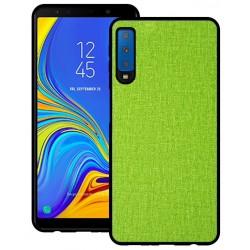 Samsung Galaxy A7 2018 etui na telefon CARPET case - Zielone