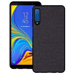 Samsung Galaxy A7 2018 etui na telefon CARPET case - Czarne