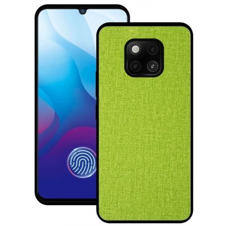 Huawei Mate 20 Pro etui na telefon CARPET case - Zielone