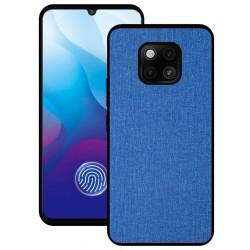 Huawei Mate 20 Pro etui na telefon CARPET case - Niebieskie