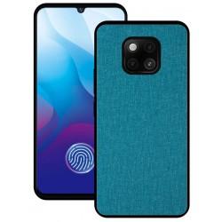 Huawei Mate 20 Pro etui na telefon CARPET case - Cyjan