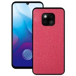 Huawei Mate 20 Pro etui na telefon CARPET case - Czerwone