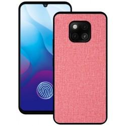 Huawei Mate 20 Pro etui na telefon CARPET case - Różowe
