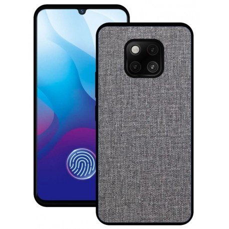 Huawei Mate 20 Pro etui na telefon CARPET case - Grafitowe