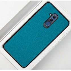 Huawei Mate 20 Lite etui na telefon CARPET case - Cyjan