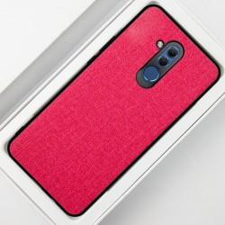 Huawei Mate 20 Lite etui na telefon CARPET case - Czerwone