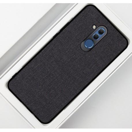 Huawei Mate 20 Lite etui na telefon CARPET case - Czarne