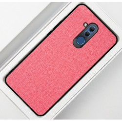 Huawei Mate 20 Lite etui na telefon CARPET case - Różowe