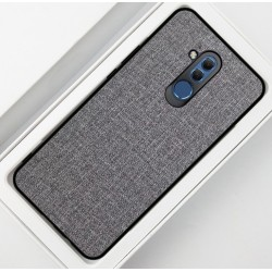 Huawei Mate 20 Lite etui na telefon CARPET case - Grafit