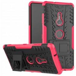 Sony Xperia XZ3 etui na telefon Pancerne Armor - RÓŻOWE