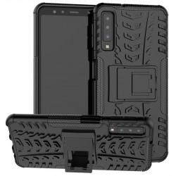 Samsung Galaxy A7 2018 etui na telefon Pancerne Armor - CZARNE