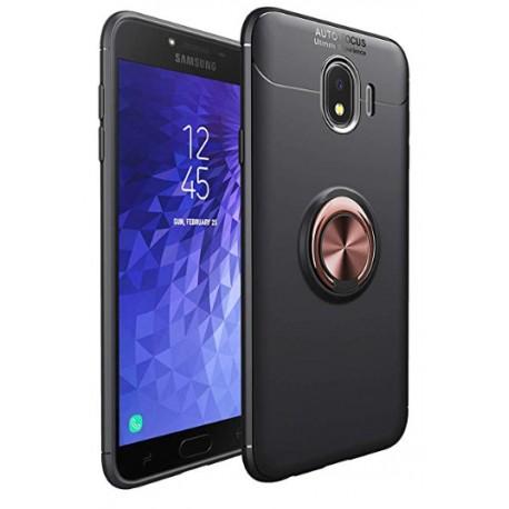 Samsung Galaxy J4+ Plus etui na telefon  KARBON RING HOLDER Złote