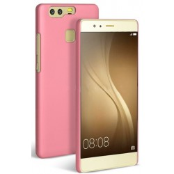 Huawei P9 Etui SLIM RUBBER Case- RÓŻOWE