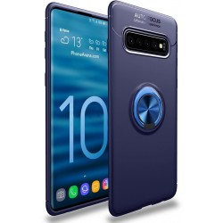 Etui na telefon Samsung Galaxy S10+ Plus KARBON RING HOLDER Blue