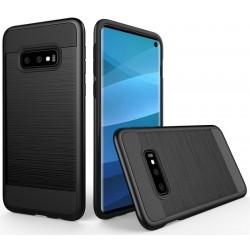 Samsung Galaxy S10 etui na telefon Brushed - Czarne