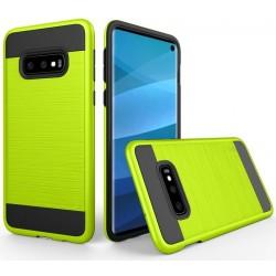 Samsung Galaxy S10 etui na telefon Brushed - Zielone