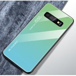 Etui na telefon Huawei P30 Pro Ombre szklane turkus