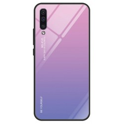 Etui na telefon Samsung Galaxy A50 GRADIENT szklane Granatowe