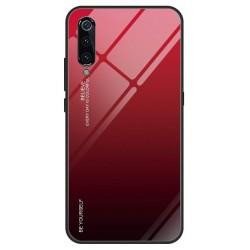 Etui na telefon Xiaomi Mi9 SE GRADIENT szklane Czerwone