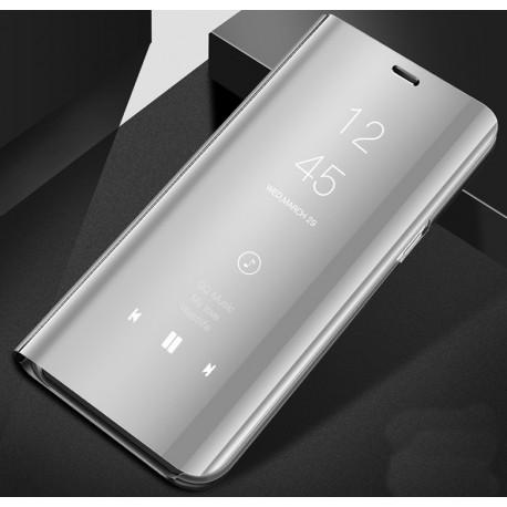 Xiaomi Mi9 SE etui SMART Clear View Flip różowe