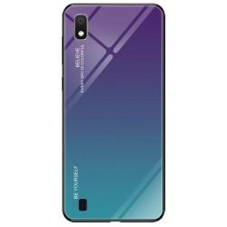 Etui na telefon Samsung Galaxy A10 GRADIENT szklane turkus