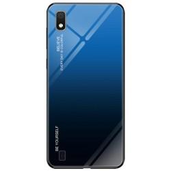 Etui na telefon Samsung Galaxy A10 GRADIENT szklane granat