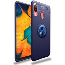 Etui na telefon Samsung Galaxy A10 KARBON RING HOLDER Blue